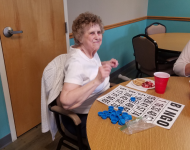 slf week 2019 dance bingo verna